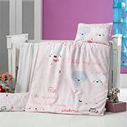 Детское постельное белье Victoria Bebek Dream House 28365