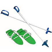 Детские лыжи с палками Marmat в ассортименте SKI-08-59 зеленые