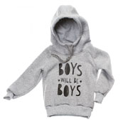 Кофта Boys Kids Couture 16-13 серая