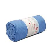 Вафельная простынь средней плотности Home Line синяя