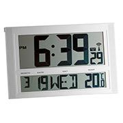 Часы настенные цифровые TFA 981090 с автоповтором звукового сигнала