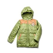Куртка для мальчика демисезонная Спорт Модный карапуз 03-00565 зеленая