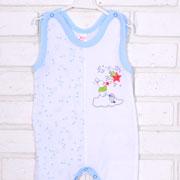 Ползунки Татошка 03506 голубые звездочки