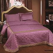 Покрывало с наволочками Arya TR1001109 Marbella светло-фиолетовое