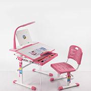 Комплект мебели BD-04P розовый с LED лампой