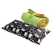Спальный мешок bq-style зеленый с подушкой