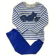 Комплект для мальчика Bembi рибана синий