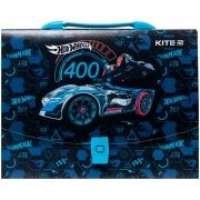 Портфель-коробка А4 Hot Wheels Kite HW20-209