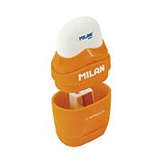 Резинка и точилка Milan Capsule Rubber Touch ml.4705116