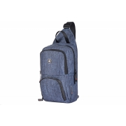 Рюкзак-слинг Wenger Console Cross Body Bag серо-синий 605031