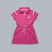 Платье детское для девочки с канатиком малиновое Модный карапуз 03-00506