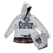 Спортивный костюм 98 Kids Couture 16-18 серый
