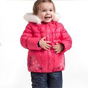 Комплект верхней одежды для девочки Bembi КС453 плащевка