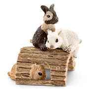 Фигурка Играющие крольчата Schleich 13748