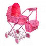 Коляска для куклы Melogo (Metr+) 9325 Розовый 43696