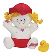 Игрушка для купания Девочка Джулия с утенком Ks Kids 10419