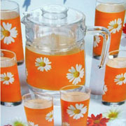 Комплект для напитков Luminarc CARINE Paguerette Melon