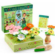 Набор Цветочный магазин Лилия и Роза Djeco
