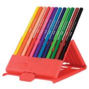 Карандаши цветные Milan, 12 цветов, пластиковая коробка