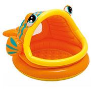 Детский бассейн Intex в виде рыбки