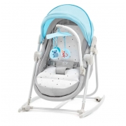 Шезлонг-качалка 5 в 1 Kinderkraft Unimo Light Blue (KKBUNIMLIBL000)