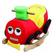 Детское кресло-качалка с музыкой Поезд JR2555 Rock my baby