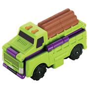 Машинка-трансформер 2в1 Лесовоз и Транспортер