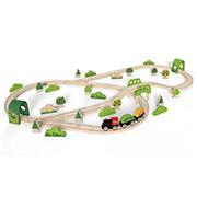 Набор железной дороги Лесное приключение Hape E3713