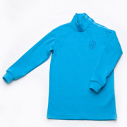 Гольфик для мальчика Модный Карапуз 03-00593 голубой