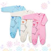 Комбинезон для малышей Фламинго 460-212 интерлок