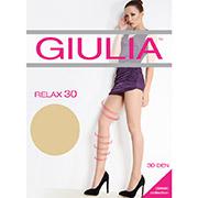 Колготки бежевые 30 Den Relax Giulia Diano