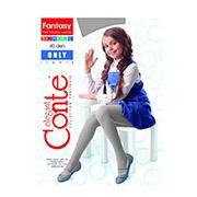 Колготы серые для девочки подростковые Only 40 Den Conte 12С-18СП Fumo