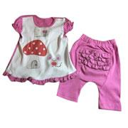 Комплект для девочки Грибок Baby Life 9-037 интерлок