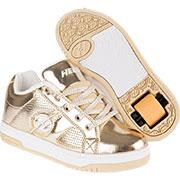 Роликовые кроссовки Split Heelys золотые