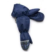 Рукавицы краги зимние для мальчика непромокаемые на меху Модный карапуз 03-00521 Синий
