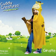 Плед-накидка детский Le Vele Giraffe