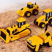 Набор мини-техники CAT Toy State 34601 5 шт в наборе