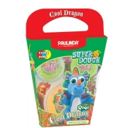 Маса для ліплення Paulinda Super Dough Cool Dragon Дракон блакитний PL-081378-14