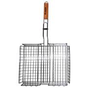 Решетка для гриля глубокая с деревянной ручкой Скаут 0705