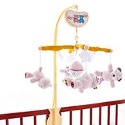 Мобиль Biba Toys Счастливые медвежата Розовый 039BM pink
