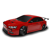 Шоссейная 1:10 E4JR Mitsubishi Evolution X Team Magic красный TM503014-EVX-R