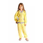 Спортивный костюм Велюр Kids Couture желтый