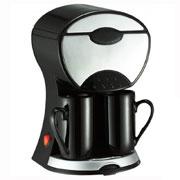 Кофеварка капельная на две чашки MAESTRO MR 404