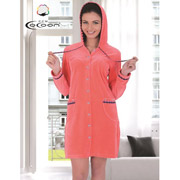 Халат женский Cocoon 13-1263 coral