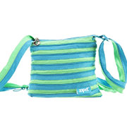 Сумка Zipit Medium Turquise Blue & Spring Green ZBD-15 бирюзовый