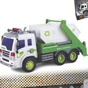 Строительный мусоровоз Junior Trucker 28 см со светом и звуком Dave Toy 33026