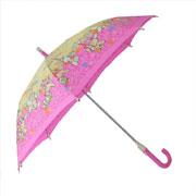 Детский зонтик-трость с фонариком Зайчата Zest 21551