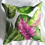 Подушка Lilihome design Purple Tropics UT101