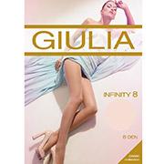 Колготки телесные с охлаждающим эффектом 8 Den Infinity Giulia Naturale