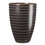 Декоративная ваза Cube Asa selection 22 см коричневая